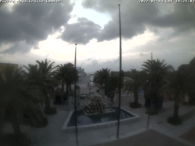 Cozumel webcam - Puerta Maya Cruise Center webcam, Quintana Roo, Quintana Roo