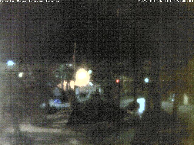 Webcam For The Port Of Cozumel